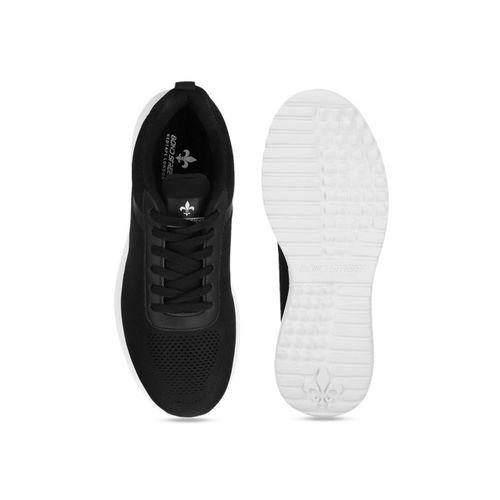 Bond Street By Red Tape Men Black Mesh Walking Shoes