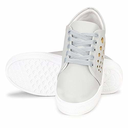 Triksy Women's Lace Up Fashion Sneakers