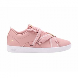 Puma Women's Smash WNS Buckle Bridal Rose T Sneakers