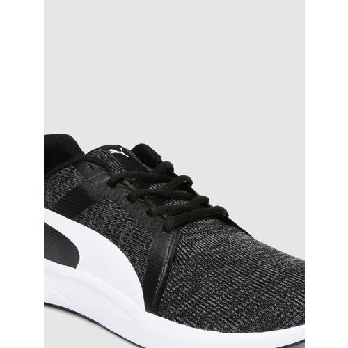 Puma Men Black Frost IDP Running Shoes