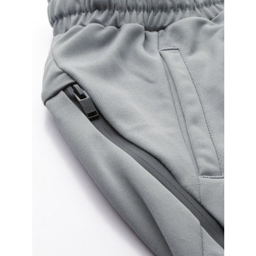 HRX by Hrithik Roshan Women Grey Solid Slim Fit Active Training Joggers