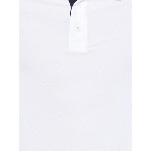 Puma Men White Train Polo T-shirt