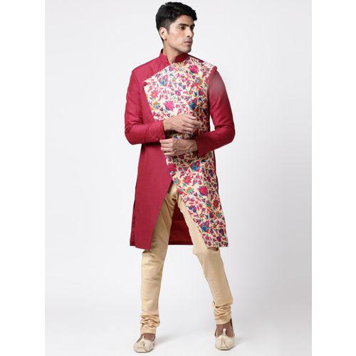 Svanik Men Multicoloured Printed Sherwani