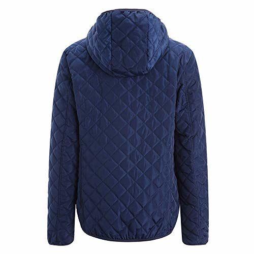 Lavany Womens Winter Warm Coat Faux Fur Collar Hooded Jacket Slim Parka Outwear Coat