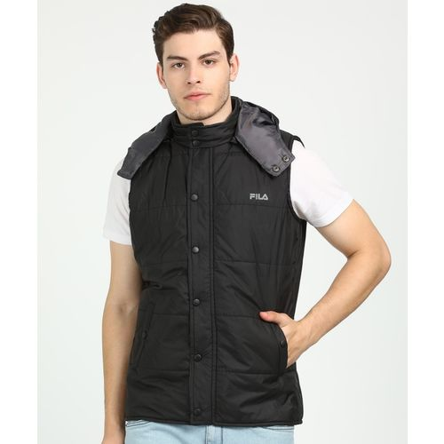 Fila Sleeveless Solid Men Jacket
