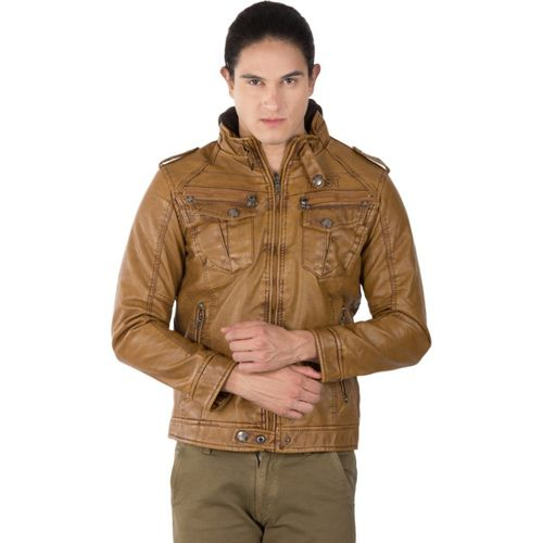 ASST Full Sleeve Solid Men Jacket