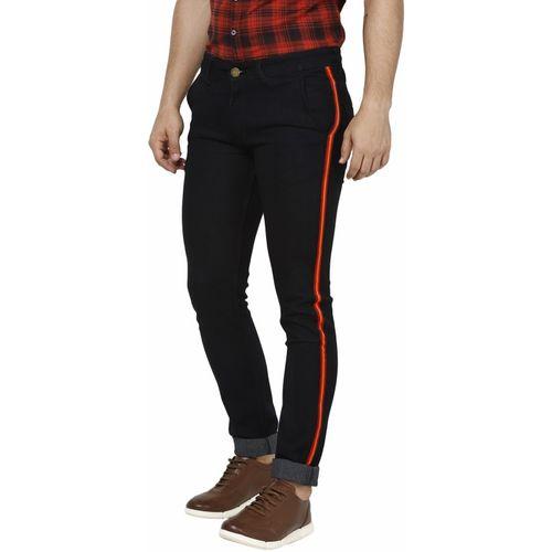 Supernova Inc. Slim Men's Black Jeans
