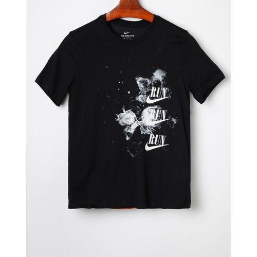 NIKE Typographic Print Crew-Neck T-shirt