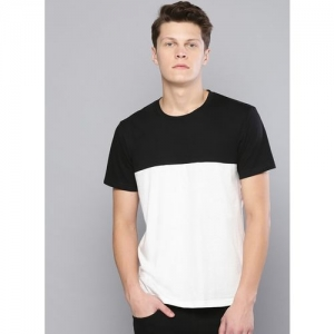 Besiva white&black regular-fit t-shirt