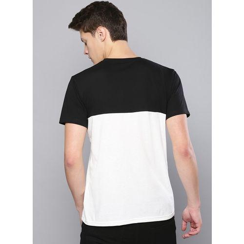 Besiva white&black regular-fit t-shirt
