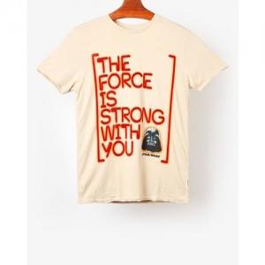 Jack & Jones Star Wars Print Slim Fit Round-Neck T-shirt