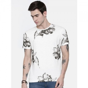 BREAKBOUNCE Floral Regular Fit T-shirt