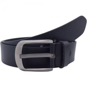 Baluchi Men Casual Black Genuine Leather Belt