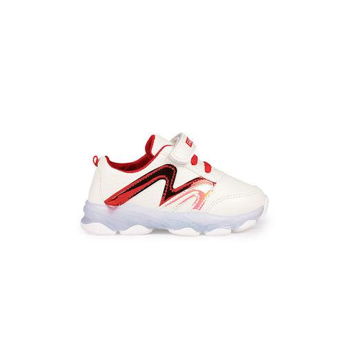 Walktrendy Unisex Red LED Sneakers