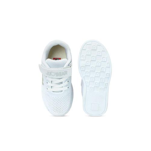 Walktrendy Kids White Sneakers