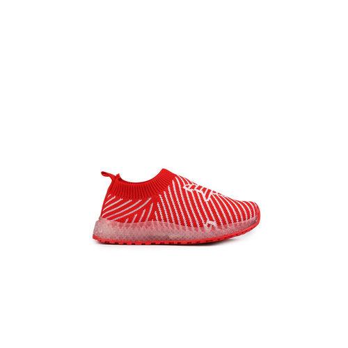 Walktrendy Unisex Red Sneakers