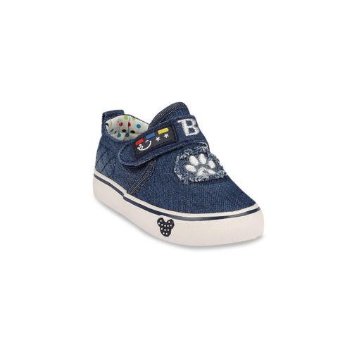 Walktrendy Kids Navy Blue Sneakers