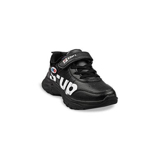 Walktrendy Boys Black Sneakers