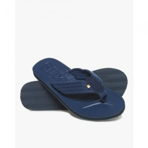 SUPERDRY Cove Thong-Strap Flip-Flops with Branding