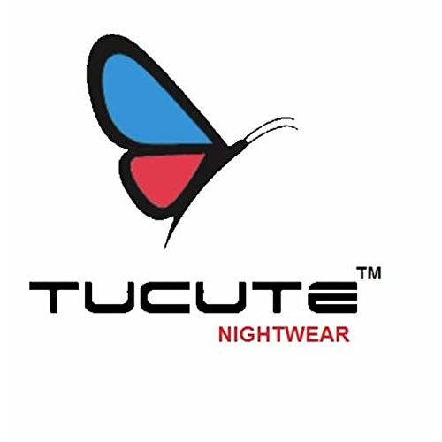 TUCUTE Women Beautiful Print Poly-Cotton Invisible Zip Pattern Feeding/Maternity/Nursing Nighty/Night Gown/Nightwear (Free Size) (Pack of 2 Pcs) Smart Combo