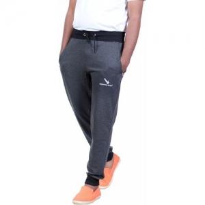 GYRFALCON Self Design Men Grey Track Pants