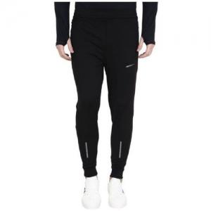 Finz Solid Men Black Track Pants