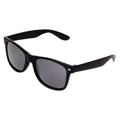Aligatorr Stylish Black Unisex UV400 Wayfarer Sunglass