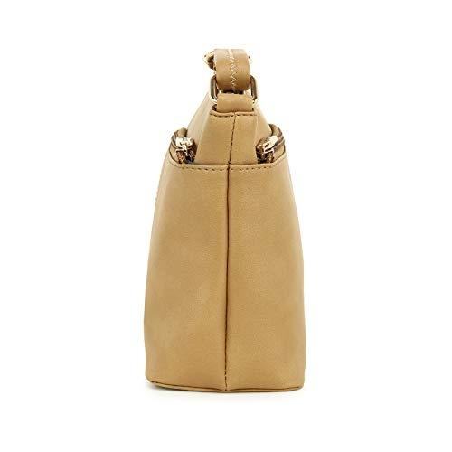 Exotic New Designer Tan Polyurethane Cross Body Sling Bag