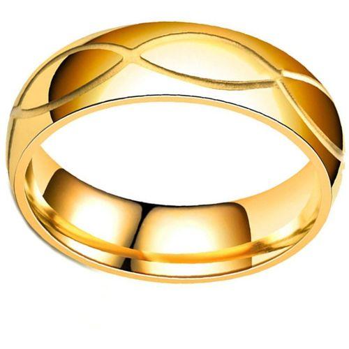Divastri Designer Gold Plated Stainless Steel Rings for Men and Boys Stainless Steel Ring