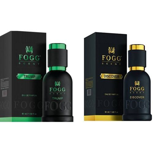 Fogg TRUMP PERFUME 50 ML +DISCOVER Eau de Parfum - 50 ml (For Men) Eau de Parfum - 100 ml(For Men)