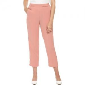 Van Heusen Regular Fit Women Orange Trousers