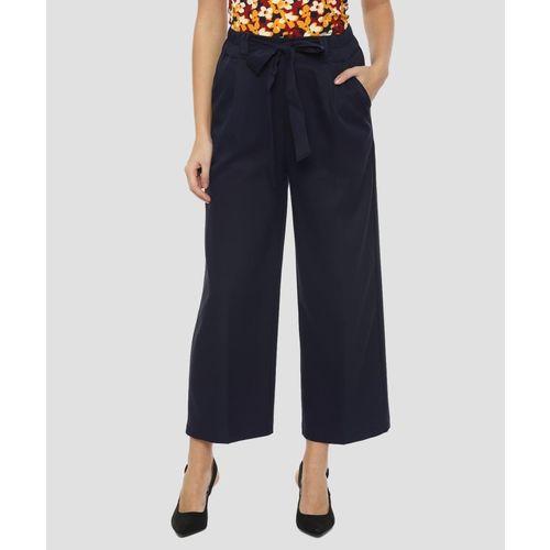 Van Heusen Regular Fit Women Grey Trousers