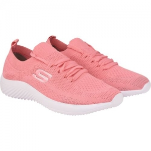 Hitcolus pink fabric Walking Shoes, Flyknit Sports Shoes
