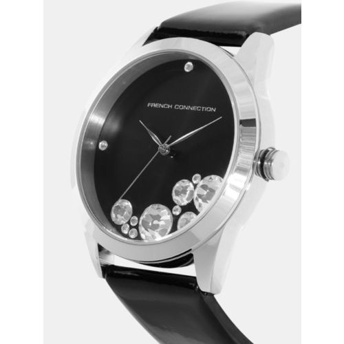 French Connection Women Black Analogue Watch FC1117SB_OR1
