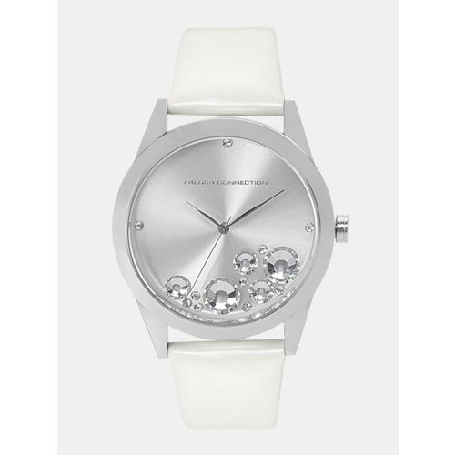 French Connection Women Silver-Toned Analogue Watch FC1117W-A