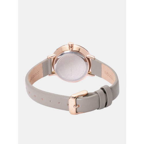 French Connection Women Silver-Toned Analogue Watch FC1324E