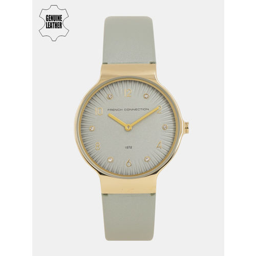French Connection Women Grey Analogue Watch FC1301EG