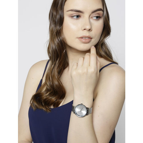 French Connection Women Silver-Toned Analogue Watch FC1325SM