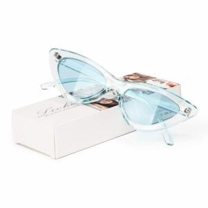 Livho Livh Retro Vintage Narrow Cat Eye Sunglasses
