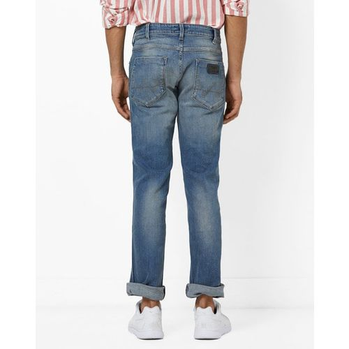 WRANGLER Slim Fit 5-pocket Denim Jeans