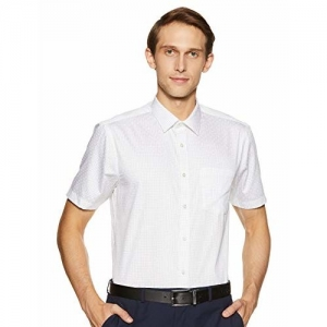 blackberrys Men's Printed Slim Fit Formal Shirt