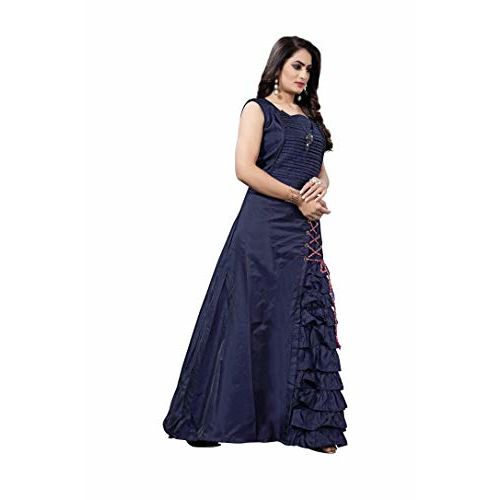 swagat saree Women's cotton Anarkali Style Gown
