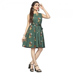 New Ethnic 4 You Floral Printed Knee Length Dress
