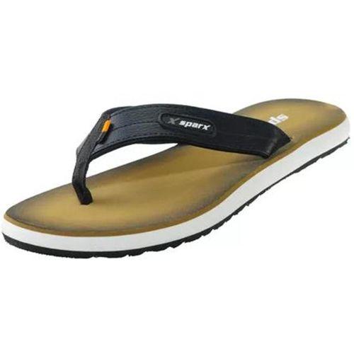 Sparx SFG 541 Black Olive Flip Flops