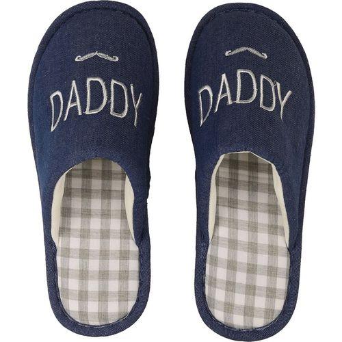 DRUNKEN Slipper For Men's Flip Flops House Slides Home Carpet Blue Sandals Slippers