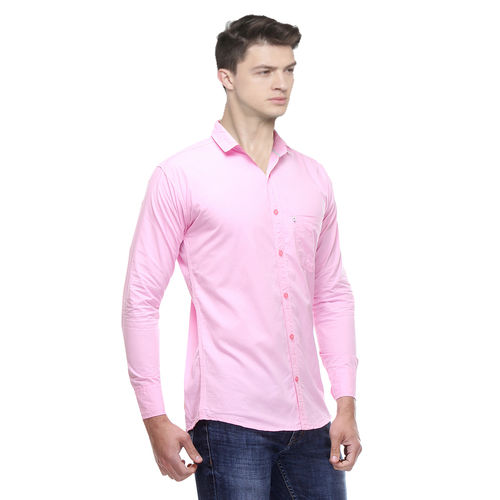 Black Bee Solid Cotton Poly-Cotton Shirts for Men Pack of 2