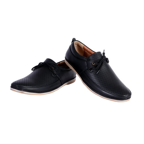 Shoebook Casual Mens Black Loafers