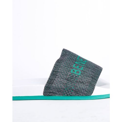 UNITED COLORS OF BENETTON Knitted Slides with Branding
