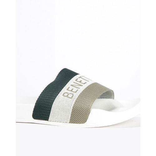 UNITED COLORS OF BENETTON Colourblock Sliders with Branding