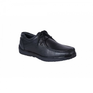 shoebook Derby Genuine Leather Black Formal Shoes